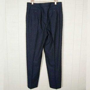 MaxMara Pants & Jumpsuits - MaxMara High Rise Wool Angora Pinstripe Trousers